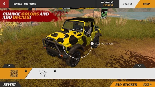 Offroad PRO – Clash of 4x4s MOD APK 1.0.15 (Free Shopping) 3