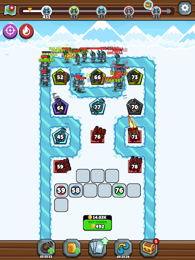 Merge Kingdoms - Tower Defense modavailable screenshots 24