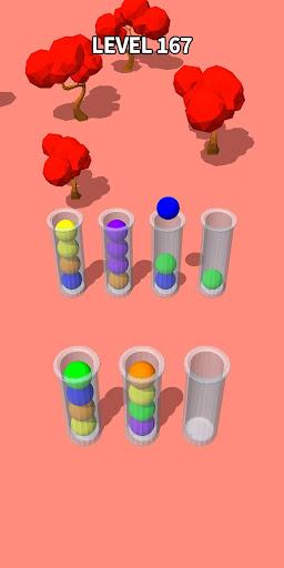 Color Sort 3D: Fun Sorting Puzzle - Ball Stack 0.3.3 screenshots 7