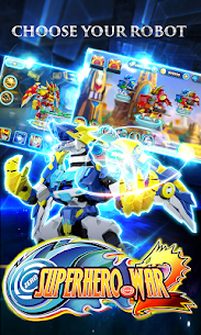 Superhero War: Robot Fight – City Action RPG 10