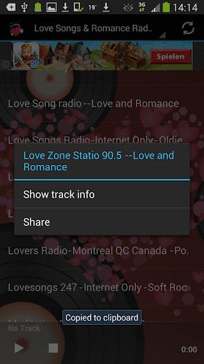 Foto do Love Songs & Romance Radio