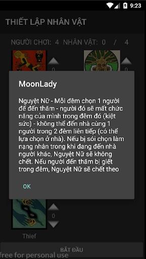Ma Su00f3i - BoardGame Werewolves 2.3.1 screenshots 5