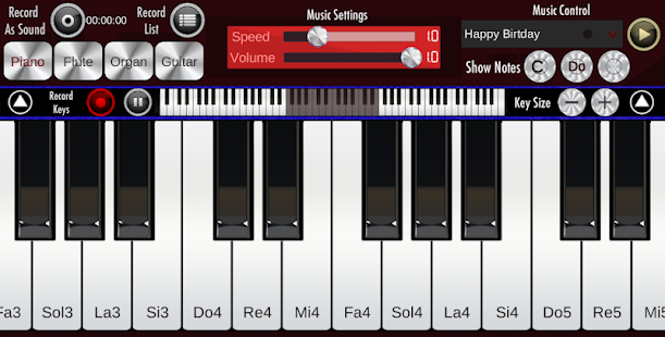 Real Piano Screenshot