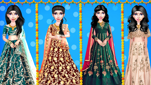 Indian Wedding Girl - Makeup Dressup Girls Game 1.0.3 screenshots 22