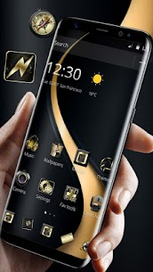 Gold Curving Luxury Business Theme 2