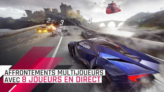 Asphalt 9: Legends - Jeu de course d'Arcade Capture d'écran