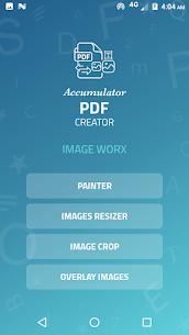 Accumulator PDF creator 4