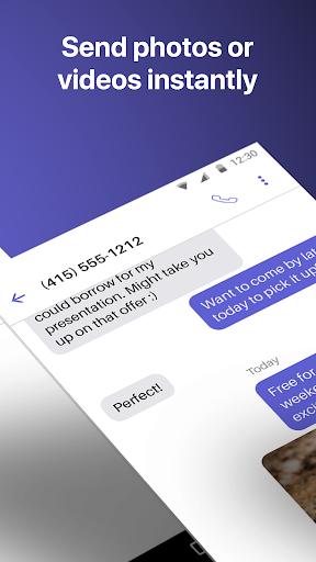 Text Free: WiFi Calling App ud83cudd93  Screenshots 4