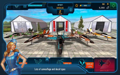 Battle of Warplanes: Aircraft combat, online game  screenshots 4