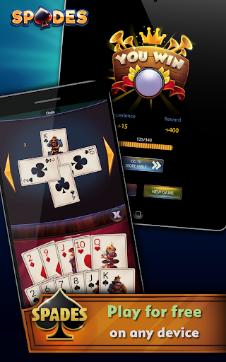 Spades - Offline Free Card Games android2mod screenshots 19