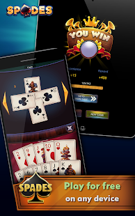 Spades - Offline Free Card Games screenshots 12