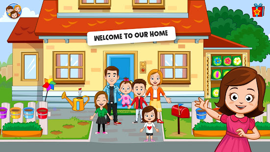 My Town: Home Doll house - Family Playhouse