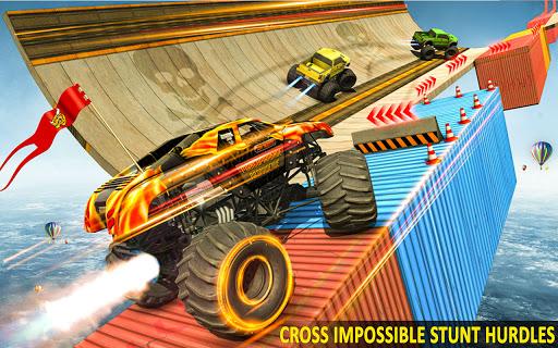 Ramp Monster Truck Stunts:New Racing Games 2.1 screenshots 3