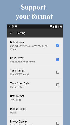 Timesheet - Time Card - Work Hours - Work Log apktram screenshots 8