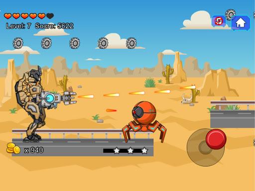Desert T-Rex Robot Dino Army screenshots 12