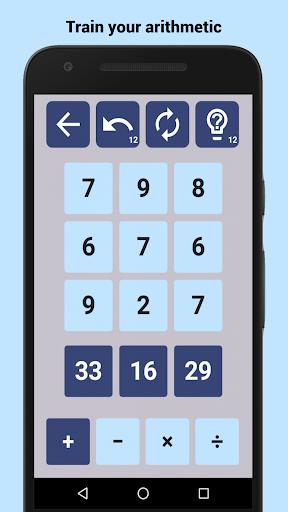 Number Drop: Math Puzzle Game for Adults & Teens APK MOD – Pièces Illimitées (Astuce) screenshots hack proof 2
