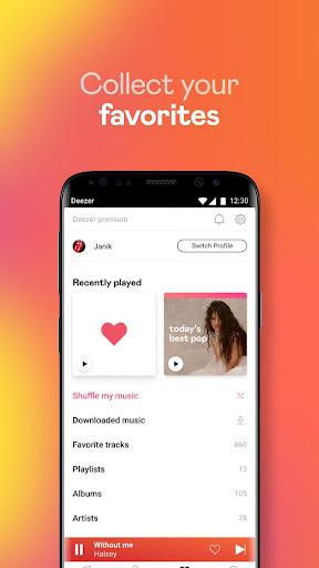 Deezer Music Player: Songs, Radio & Podcasts 6.1.14.99 Screenshots 7