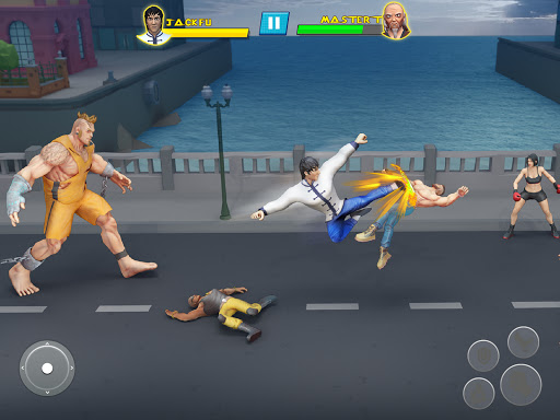 Beat Em Up Fighting Games: Kung Fu Karate Game 3.5 screenshots 6