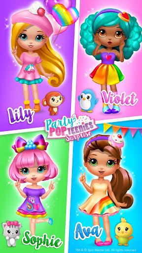 Party Popteenies Surprise - Rainbow Pop Fiesta 3.0.30008 screenshots 1