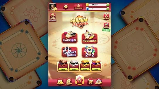 Carrom Friends MOD Apk (Unlocked Money) Latest Download 5