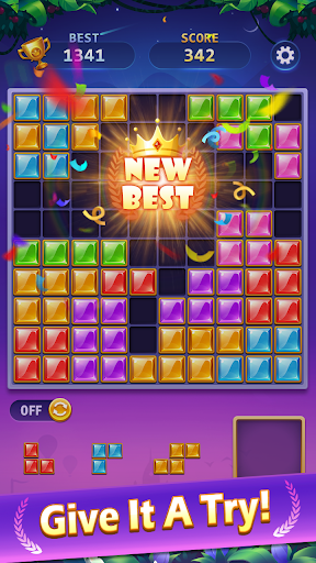 BlockPuz Jewel-Free Classic Block Puzzle Game 1.2.2 screenshots 4