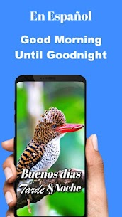 Spanish Good Morning Afternoon & Good Night Wishes 9.10.00.2 MOD for Android 1