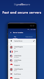 Signal Secure VPN MOD APK 2.3.8.2 (Ads Free) 2
