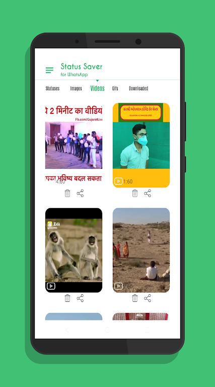 Status Saver for Whatsapp Status Downloader  poster 22