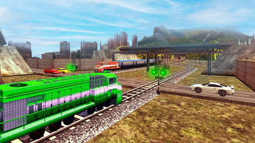 City Train Simulator 2021 New u2013 Offline Train Game 2 screenshots 10
