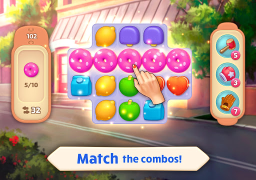 Matchland - Build your Theme Park  screenshots 11