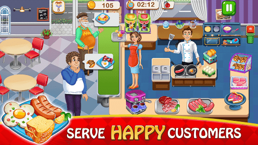 Cooking Delight Cafe Chef Restaurant Cooking Games  screenshots 1