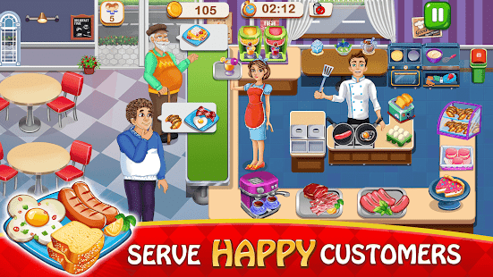 cooking delight cafe chef restaurant cooking games hack