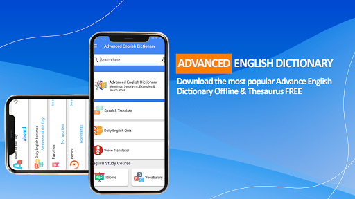 Advanced English Dictionary Meanings & Definitions apktram screenshots 10
