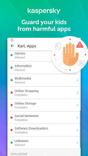 Parental Control & Kids GPS: Kaspersky SafeKids  screenshots 1