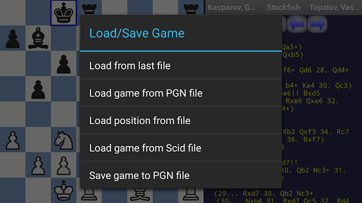 DroidFish Chess  Screenshots 8