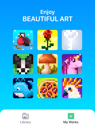 DIAMOND BOOK - Relaxing Art Painting and Coloring 1.0 screenshots 8