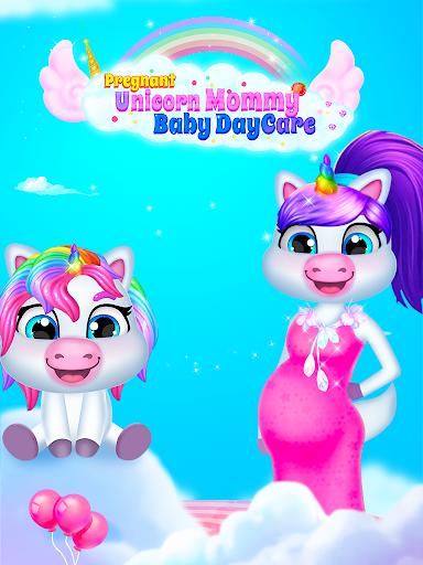 Unicorn Mom & Newborn - Babysitter Game 1.0.3 screenshots 1