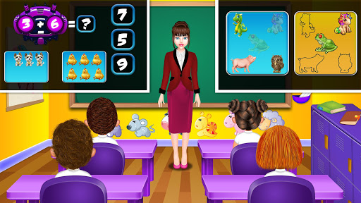 Emma Back To School Life: Classroom Play Games 4.0 Screenshots 12