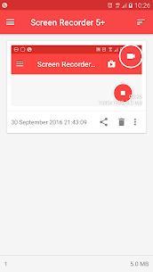 屏幕錄像機許可證 APK 3