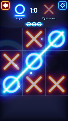 Tic Tac Toe Glow 8.4 screenshots 2
