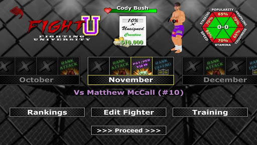 Weekend Warriors MMA 1.202 screenshots 5