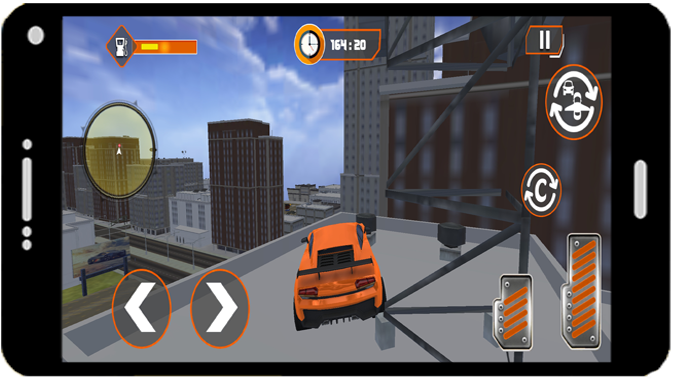 Flying Car Modern Simulator 2021 screenshot 4