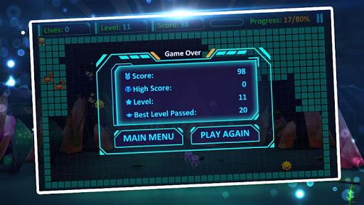 mr super fish: star hero fill build blocks screenshot 2