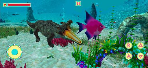 Underwater Crocodile Simulator u2013 Crocodile Games 1.3 screenshots 12