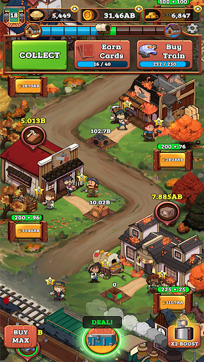 Idle Frontier: Tap Town Tycoon 1.057 screenshots 6