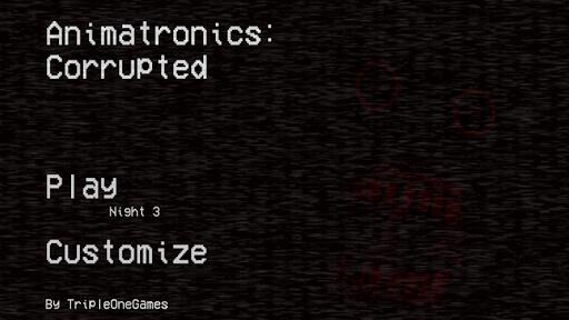 animatronics: corrupted screenshot 1