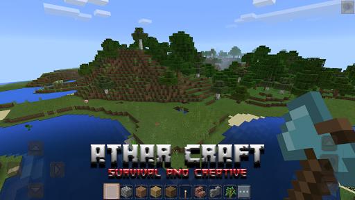 Athar Craft - Survival and Creative Building  screenshots 2