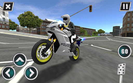 Police Motorbike Traffic Rider 1.8 screenshots 8