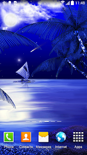 Night Beach Live Wallpaper For Pc (2020) – Free Download For Windows 10, 8, 7 2