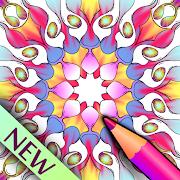 Color Surreal Mandala - Adult Coloring Book